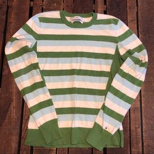 Striped Tommy H sweater